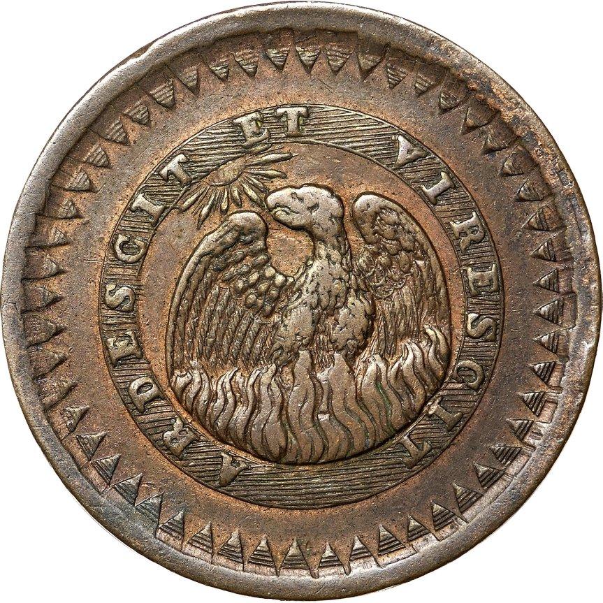 26 de Marzo 1827: Autorización al Banco Nacional para acuñar monedas deCobre