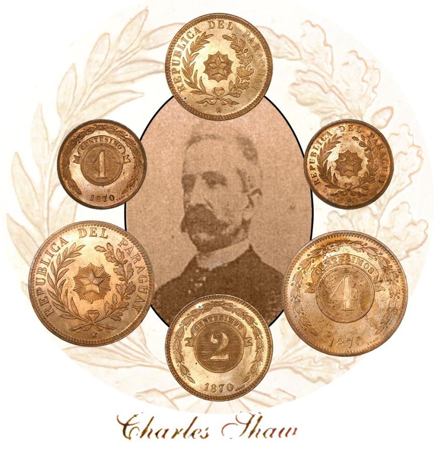 Las monedas paraguayas de 1870: ¿quién eraShaw?