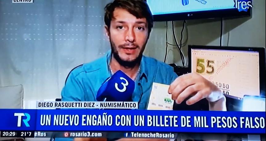 Más billetes de mil pesos falsos: cómo evitar elengaño