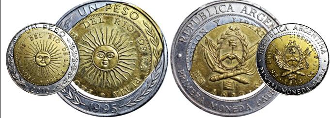 Errores propios de las monedasbimetálicas