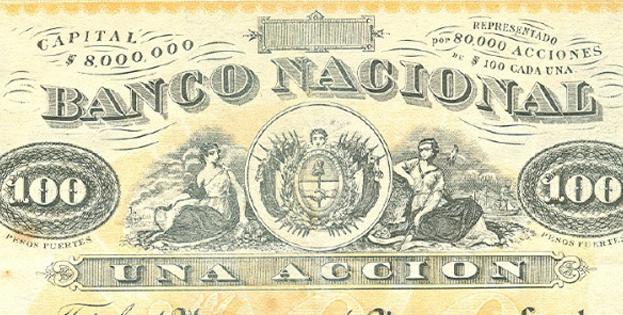 13 de Junio de 1874: Aprobación del Estatuto del BancoNacional