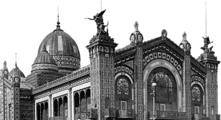 El Pabellón Argentino de la Exposición Universal de París de 1889 en lamedalla