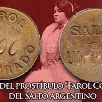 La ficha del prostíbulo «Farol Colorado» del Salto argentino