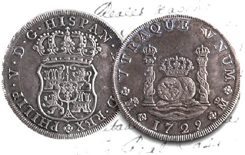 La verdadera historia de la moneda columnaria acuñada en Madrid en1729