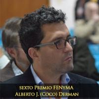 """El Premio FENyMA Alberto """"Coco"""" Derman fue para un Miembro de IFINRA"""