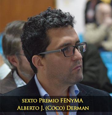 """El Premio FENyMA Alberto """"Coco"""" Derman fue para un Miembro deIFINRA"""