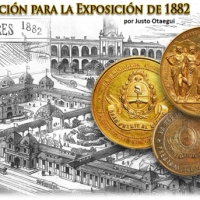Medallas de licitación para la Exposición de 1882