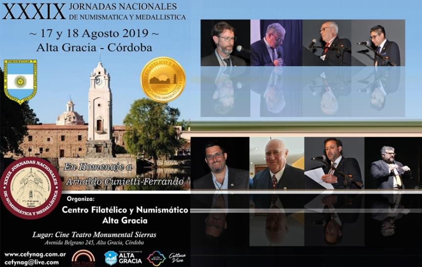 El IFINRA en las XXXIX Jornadas Nacionales de Numismática yMedallística