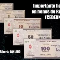 Importante hallazgo en bonos de Rio Negro (CEDERN)