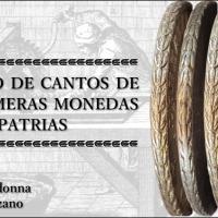 Estudio de cantos de las primeras monedas patrias