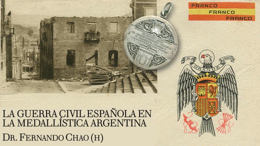 La Guerra Civil Española En La MedallísticaArgentina