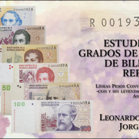 ESTUDIO SOBRE GRADOS DE RAREZAS DE BILLETES DE REPOSICIÓN