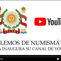 """""""HABLEMOS DE NUMISMÁTICA"""": IFINRA INAUGURA SU CANAL DE YOUTUBE"""