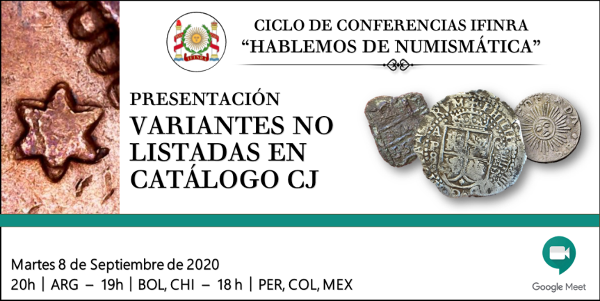 "Ver conferencia IFINRA: Presentación ""Variantes no listadas en catálogoCJ"""