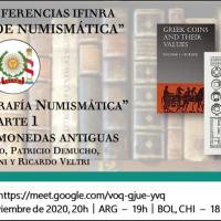"""Ciclo de conferencias IFINRA """"Hablemos de numismática"""": Bibliografía Numismática - Parte 1: Bibliografía monedas antiguas"""