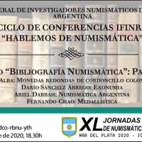 """Ciclo de conferencias IFINRA """"Hablemos de numismática"""": Bibliografía Numismática - Parte 3"""