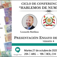 Ver conferencia IFINRA: Ensayo de Catalogación. Líneas: Pesos convertibles; Tenemos Patria; Animales autóctonos. Version 4: Octubre 2020