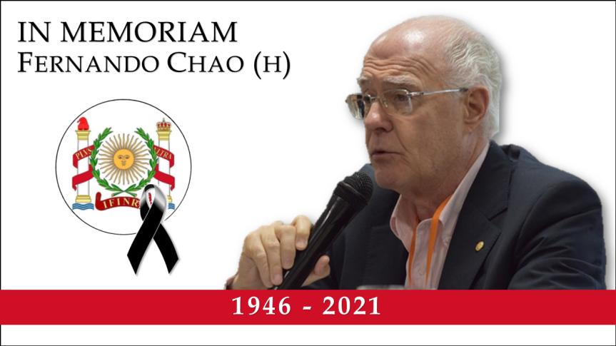 IN MEMORIAM Fernando Chao(h)