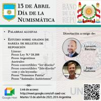 13 de Abril: Día de la Numismática