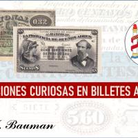Denominaciones curiosas en billetes argentinos