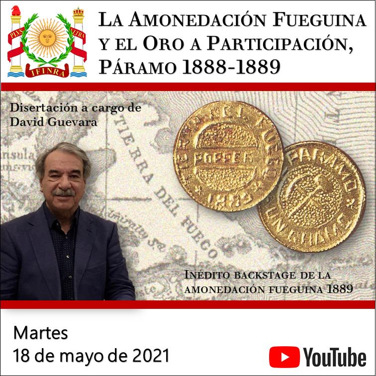 La Amonedación Fueguina y el Oro a Participación Páramo1888-1889