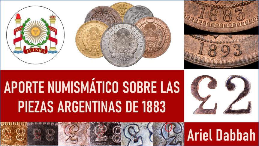 Aporte numismático sobre las piezas argentinas de1883