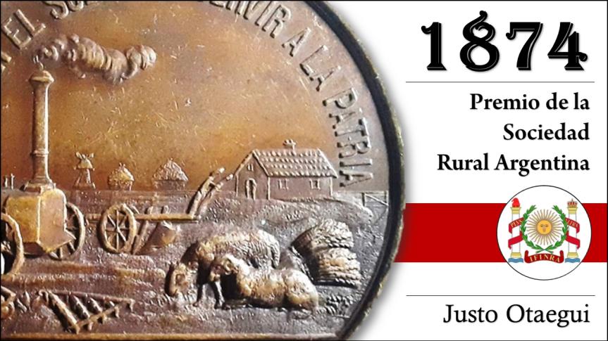 1874 – PREMIO DE LA SOCIEDAD RURALARGENTINA