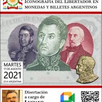 Encuentro Meet: Numismática sanmartiniana: Iconografía del Libertador en monedas y billetes argentinos