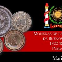 Monedas de la Provincia de Buenos Aires - 1822-1861 - Parte 1
