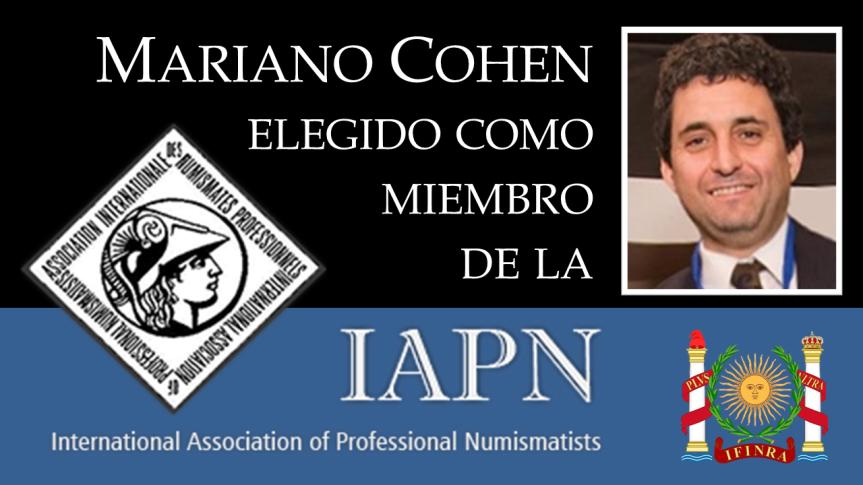 Nuestro Presidente elegido como miembro de laIAPN